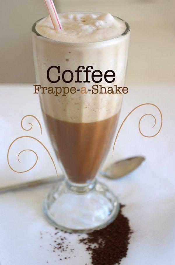 Кофе фраппе, лучшие рецепты приготовления