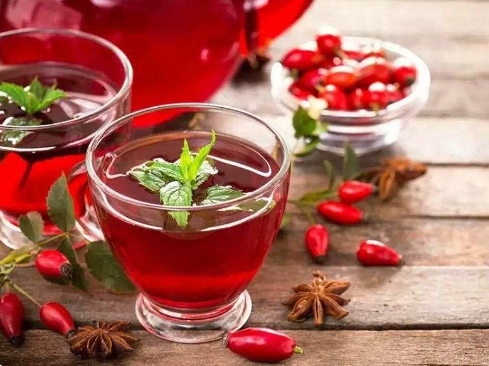 Чай с шиповником — польза и вред | польза и вред