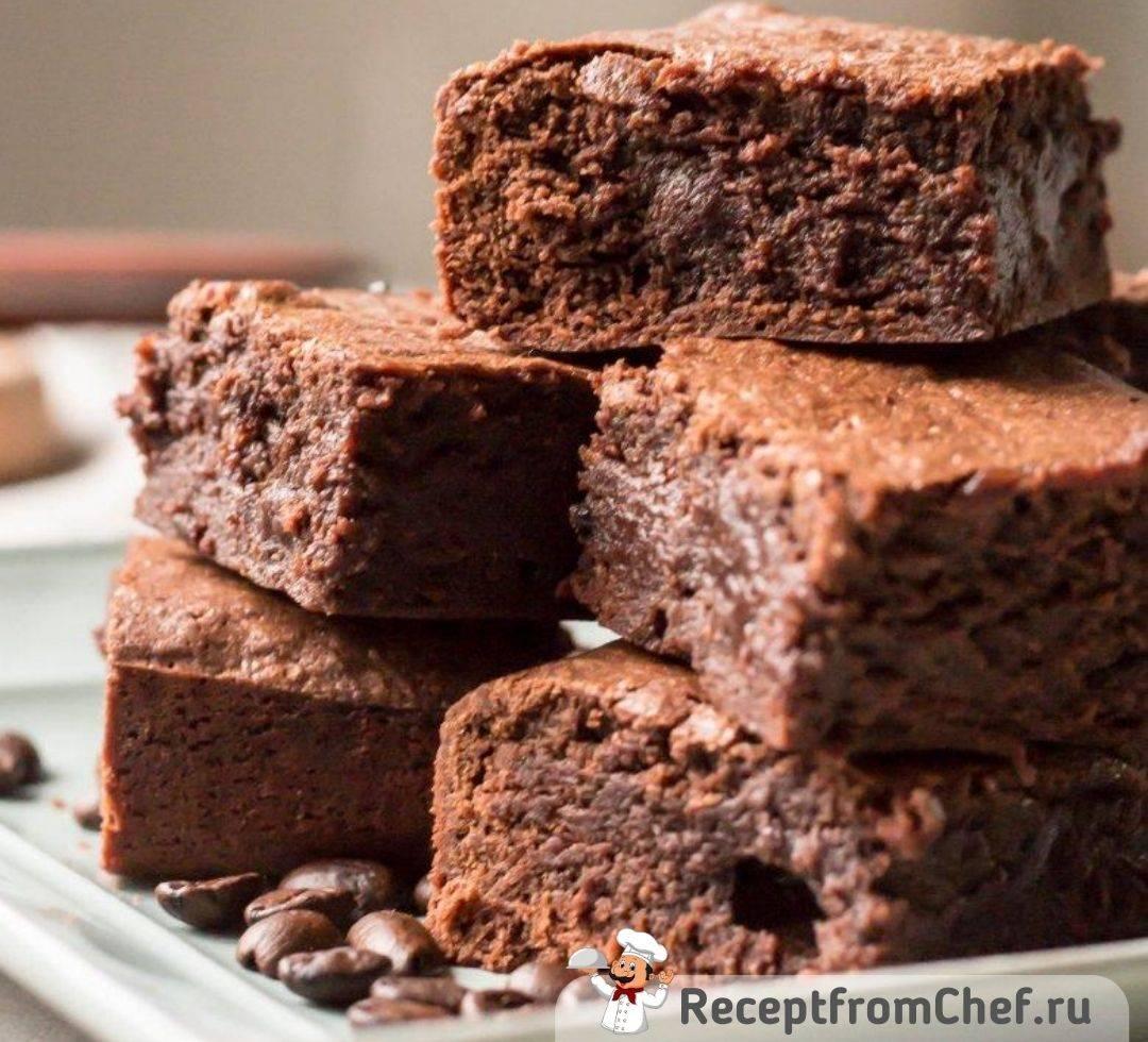Тыквенный брауни шоколадный - рецепт с фото пошаговый
