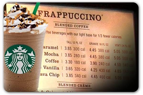 Фраппучино (frappuccino) - что такое, рецепт, калорийность, состав, приготовление, сколько стоит