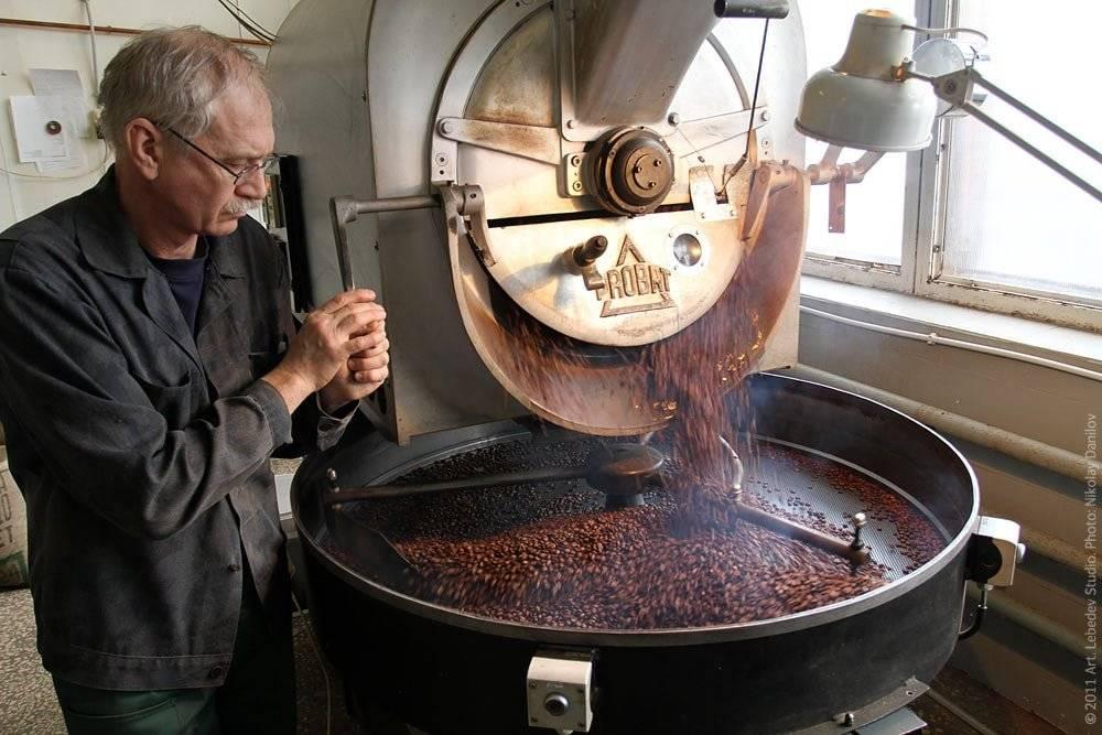 Процесс обжарки кофе   specialty coffee