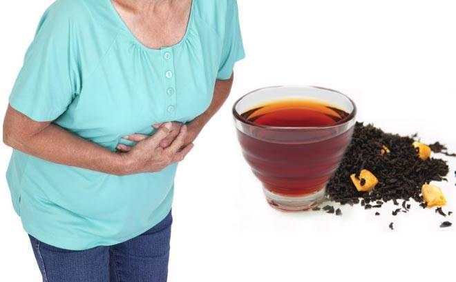 Крепкий чай от поноса: особенности и применение