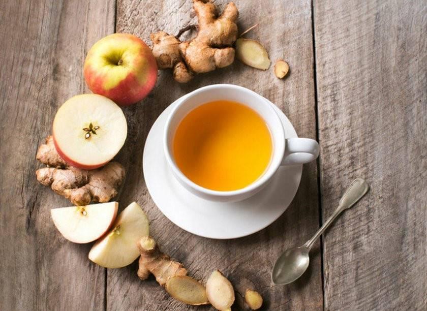 Яблочный чай и его свойства, рецепты приготовления