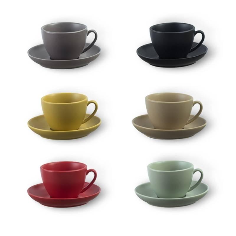 Разновидности кофейных сервизов по виду кофе и материалам изготовления