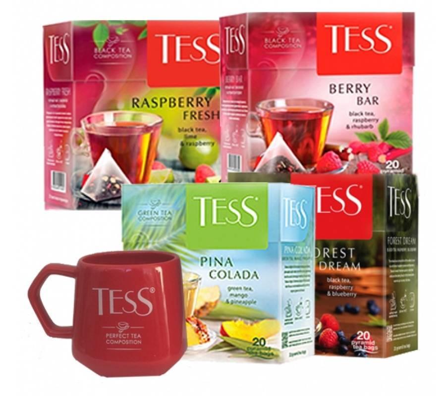 Зеленый чай tess flirt польза и вред