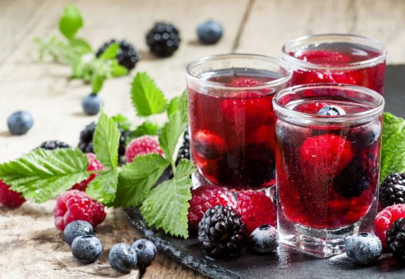 Морс из замороженных ягод - лучшие рецепты