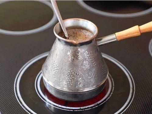Керамическая турка   турка для кофе