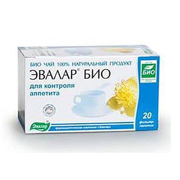 Чай эвалар био для эффективного контроля за аппетитом