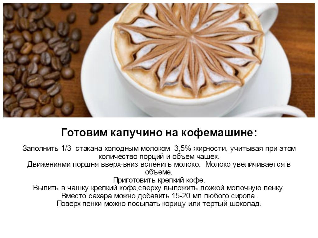 Капучино и латте - в чем отличие между напитками?