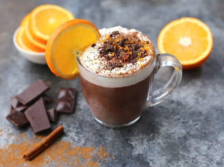 Рецепты кофе с апельсиновым соком