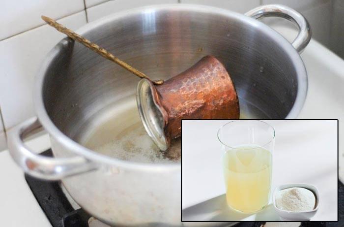 Как почистить медную турку снаружи и изнутри от налета