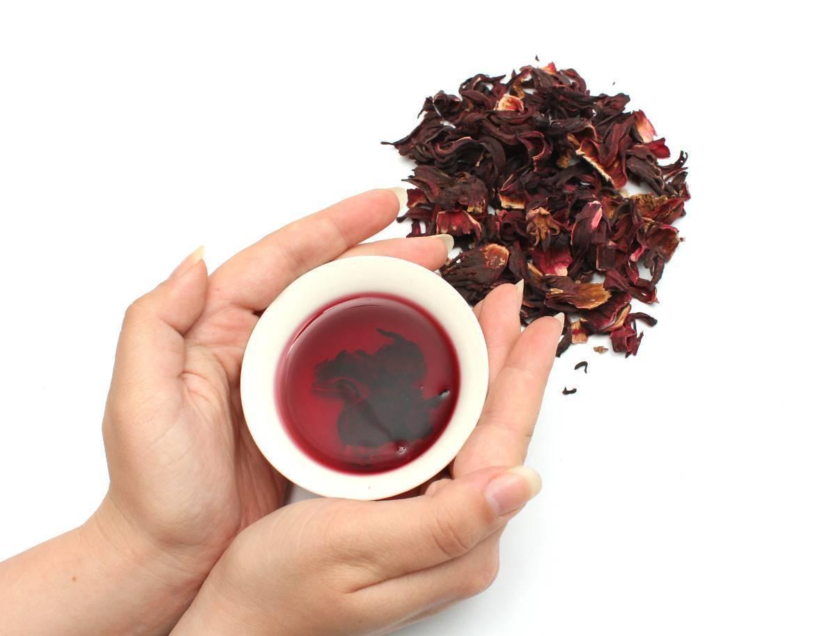 Чай каркаде при давлении высоком