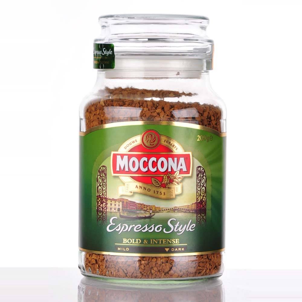 Кофе moccona caramel