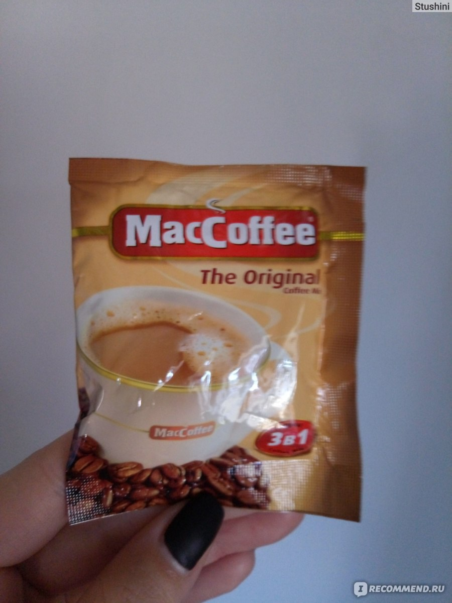 Действительно ли в кофе 3 в 1 натуральные ингредиенты?