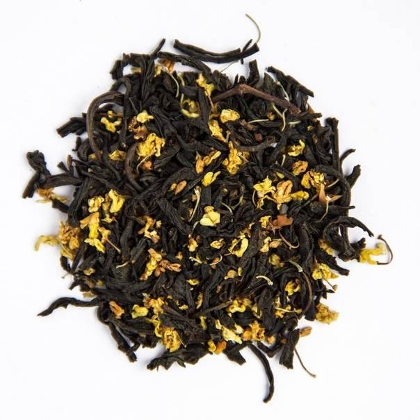 Чай с османтусом или гуй хуа ча