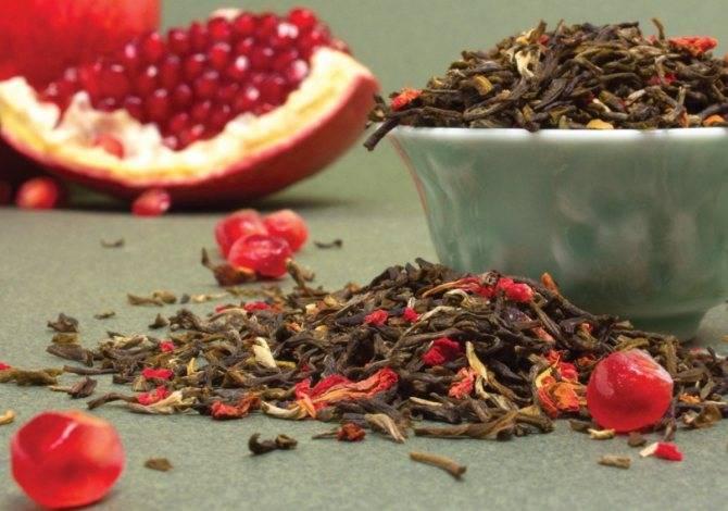Гранатовый чай из турции – польза и вред, правила приготовления