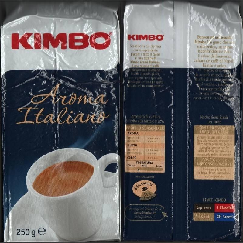 Кофе в зернах kimbo decaffeinato 500 г