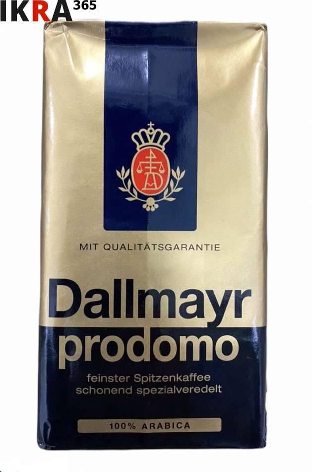 Кофе молотый dallmayr prodomo 500г купить в москве, цены