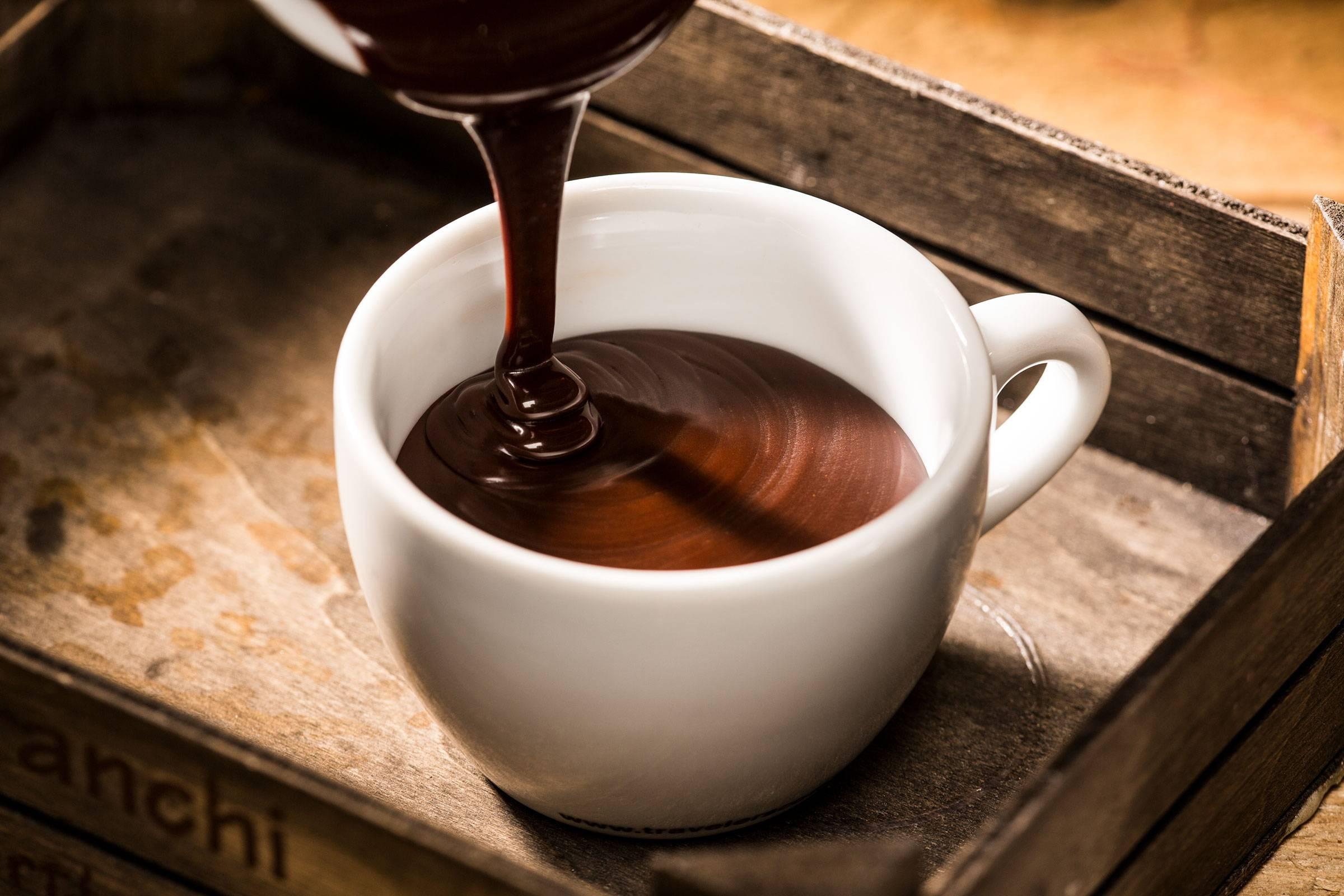 Какао в кофемашине
