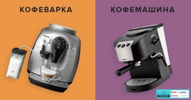 Кофеварка или кофемашина для дома: что лучше, как выбрать, виды устройств