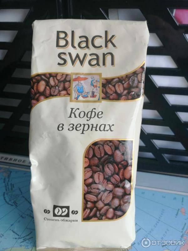 Кофе  black swan растворимый