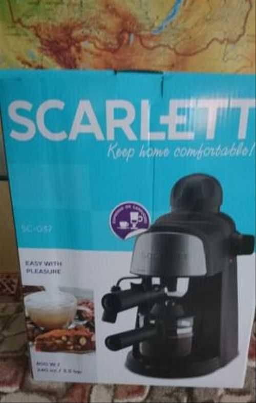 Scarlett sl-cm53001 – пожалуй, самая дешевая помповая рожковая кофеварка на момент обзора от эксперта