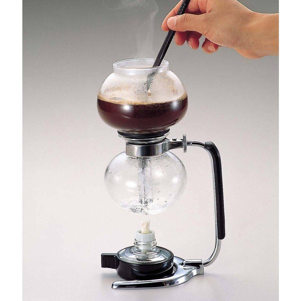 Сифон для кофе - простой прибор для получения напитка