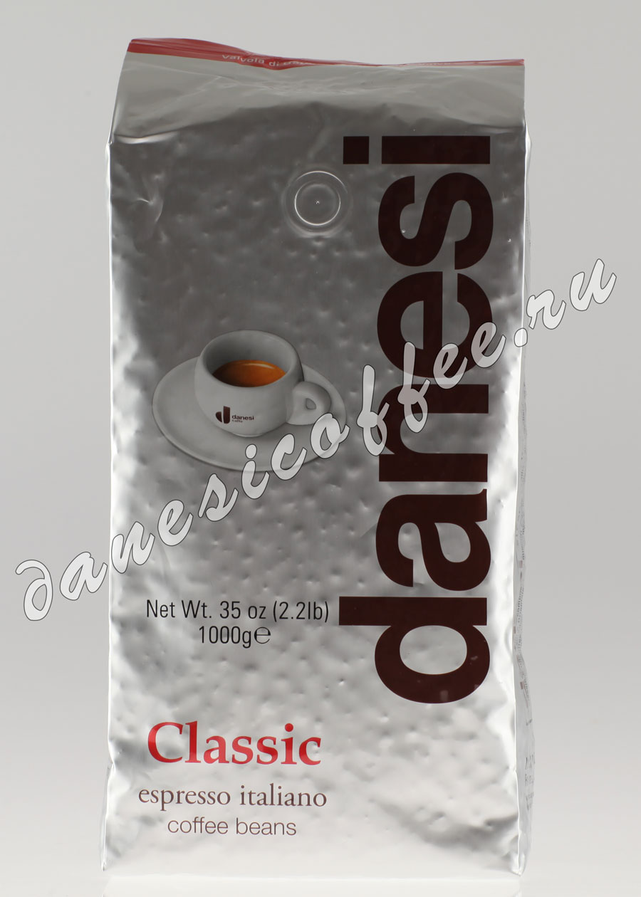 Кофе в зернах danesi doppio 2 кг — цена, купить в москве