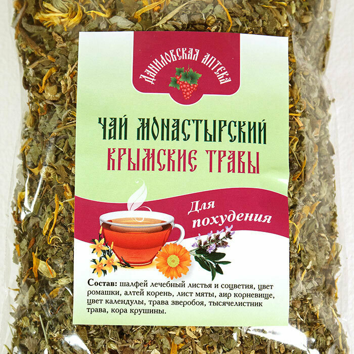 Монастырский чай: состав, способ применения и противопоказания