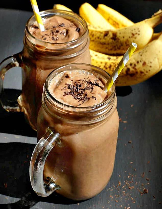 Рецепты смузи с бананом – просто, быстро и вкусно