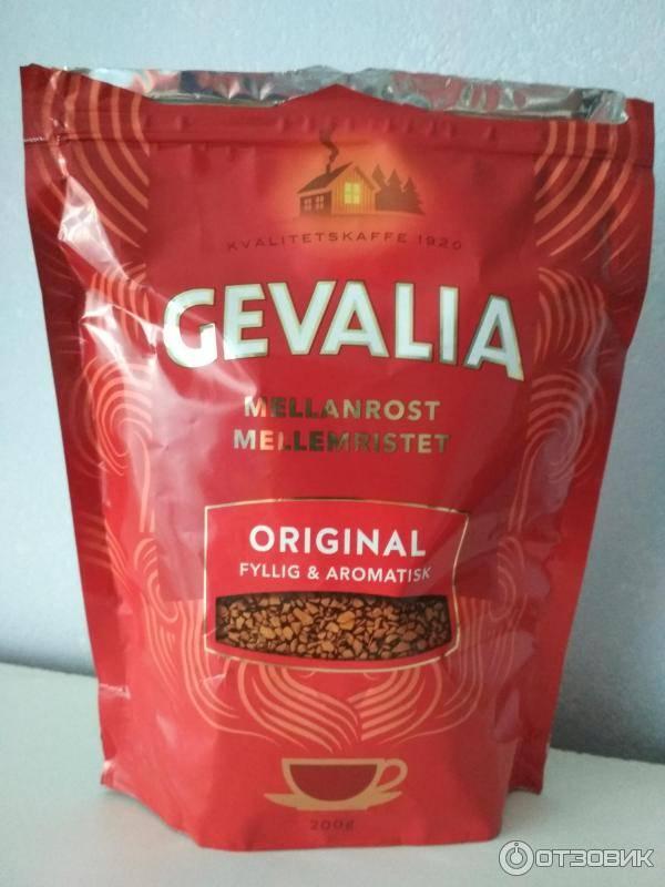 Органический растворимый кофе gevalia (гевалия)