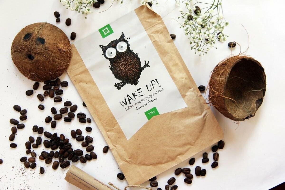 Маска для тела из кофе и скрабы из кофейной гущи