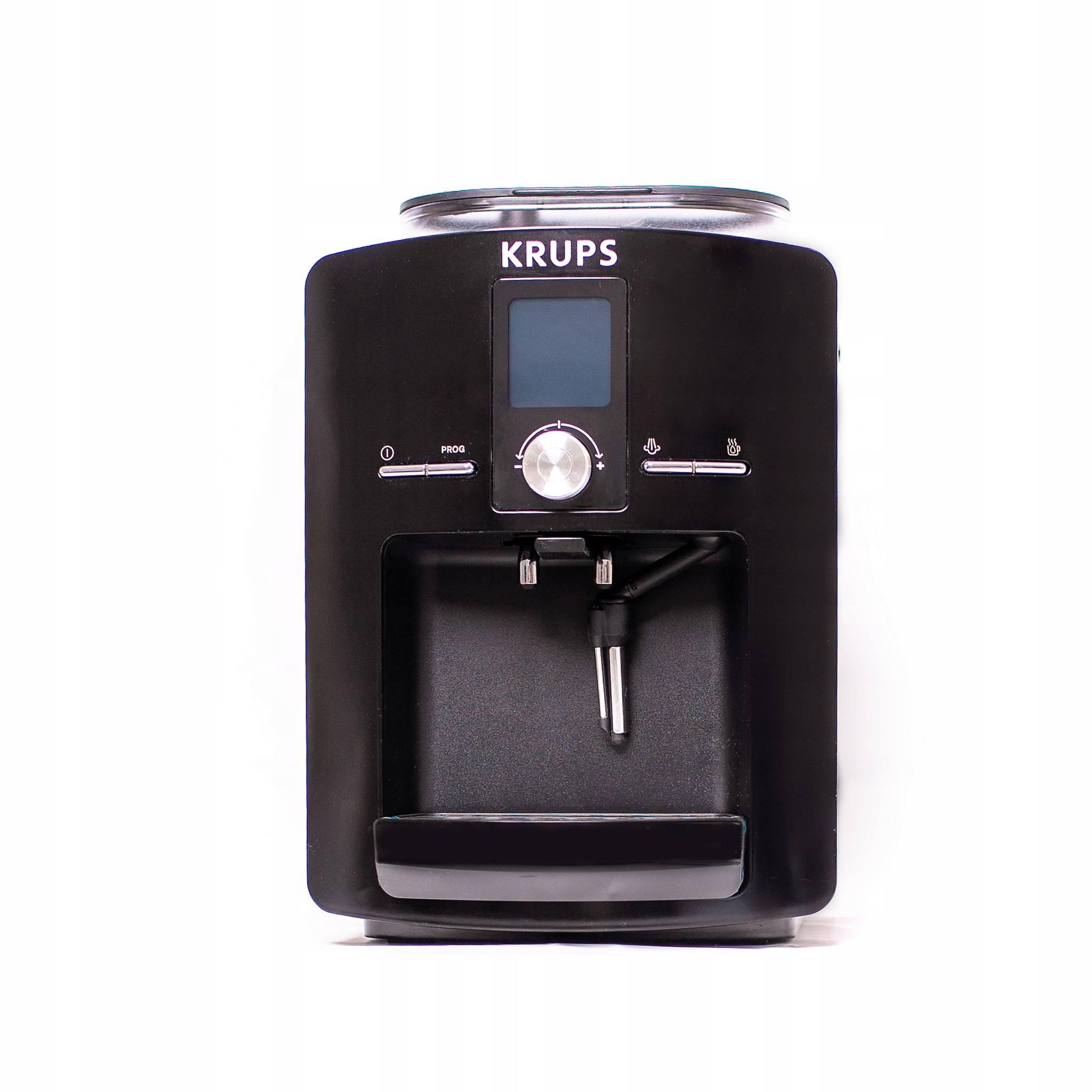 Обзор франко-немецких зерновых кофемашин крупс espresseria (серия ea) на примере krups ea 8105 от эксперта