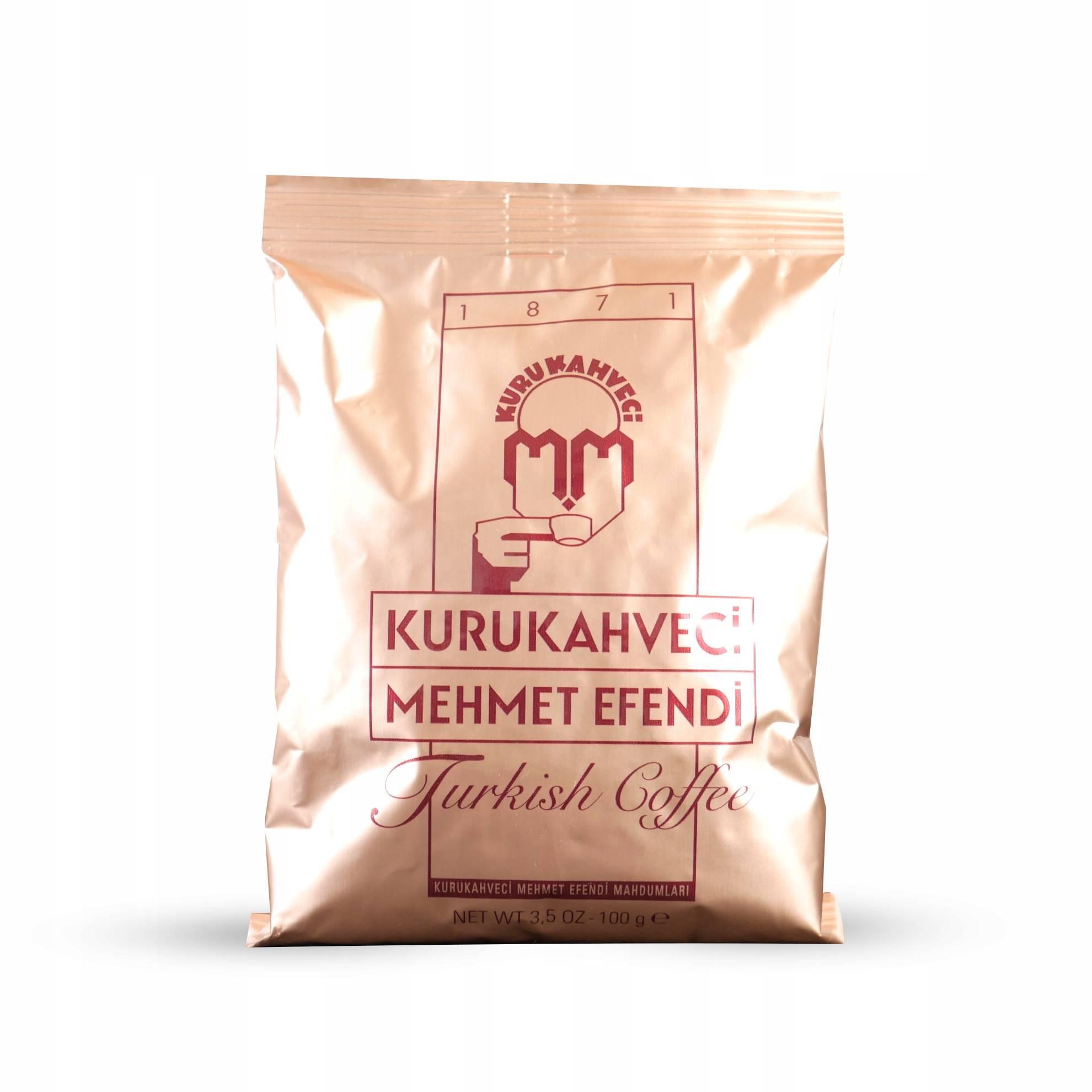 Кофе mehmet efendi со 100% арабикой с разных регионов мира