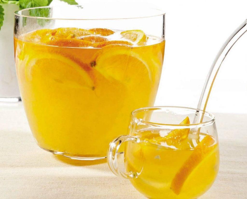 Апельсиновый чай: рецепты напитка с апельсином