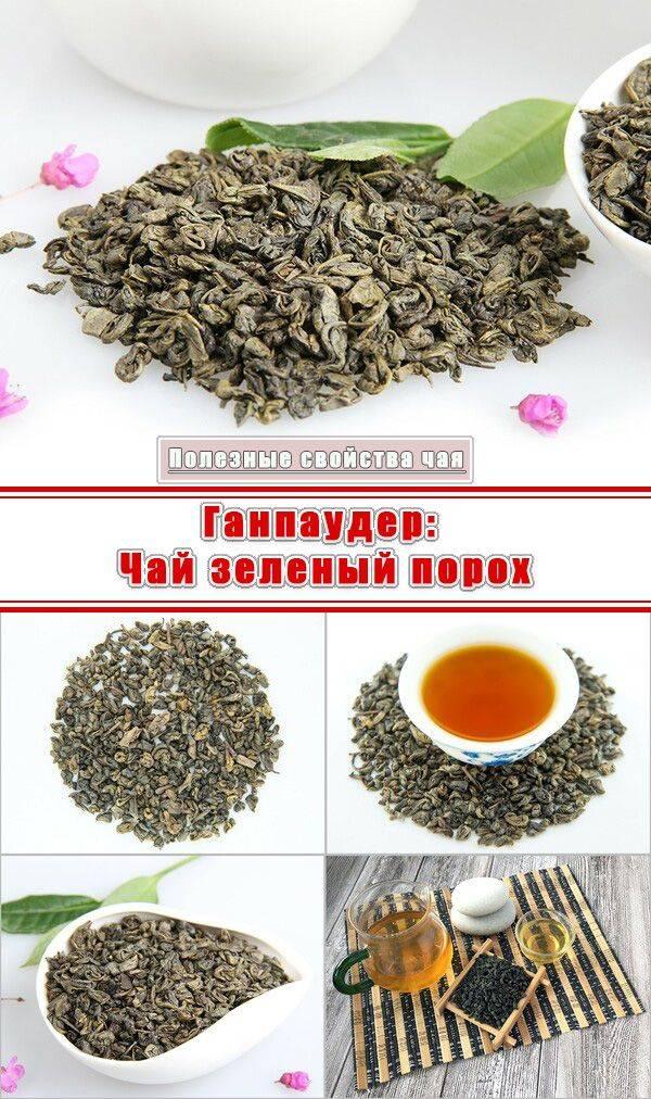 Чай Ганпаудер: описание и польза