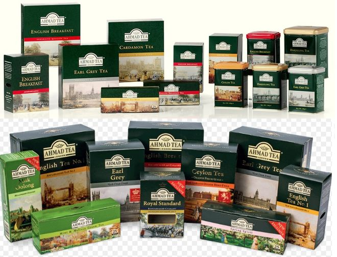 """Чай """"ахмад"""" известный британский бренд на отечественном рынке"""