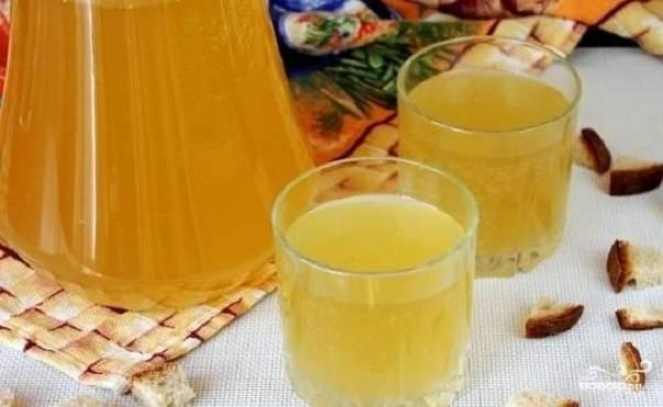 Квас из березового сока в домашних условиях: рецепты с фото
