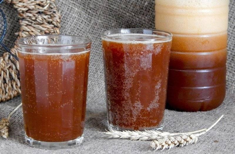 Квас из ржаного солода в домашних условиях рецепт с фото пошагово - 1000.menu