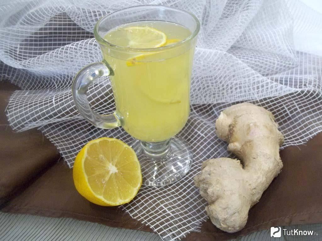 Рецепт имбирного чая от простуды и кашля (как заварить и пить)