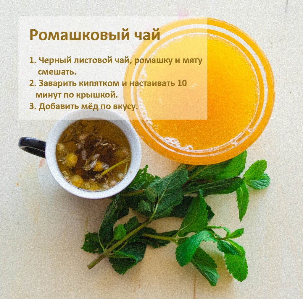 Чай от простуды: как и какой пить, рецепты заваривания