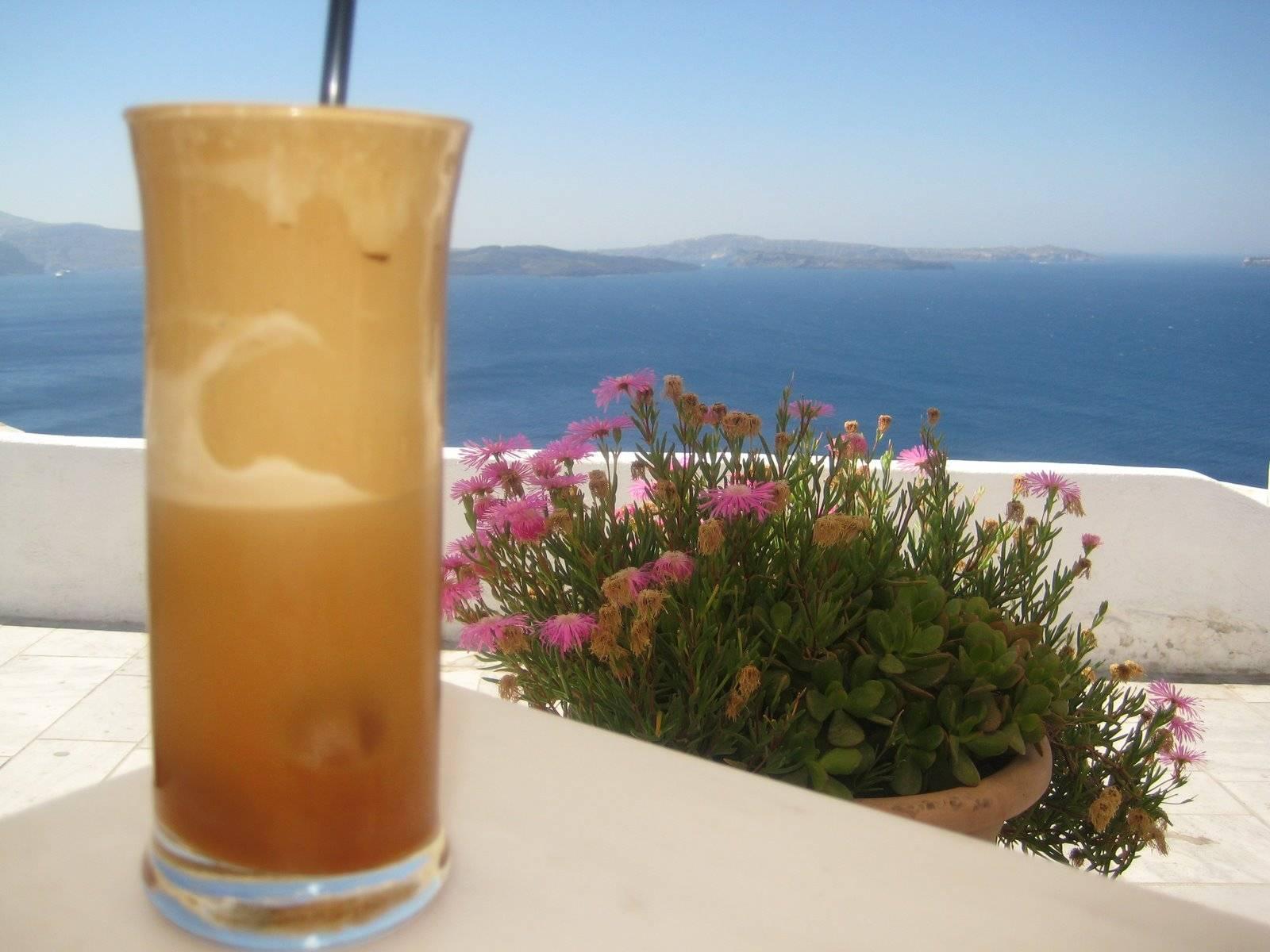 Греческий холодный кофе: рецепты