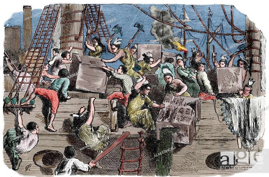 Бостонское чаепитие - история