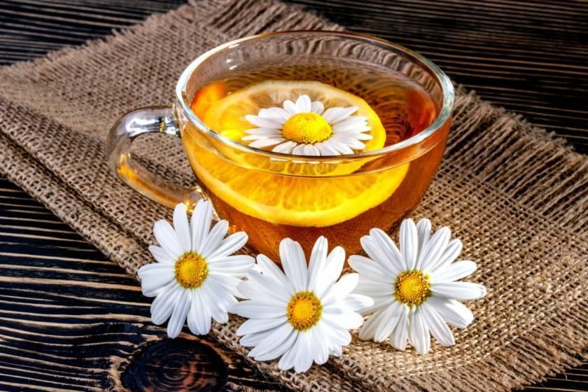 Польза и вред применения ромашкового чая