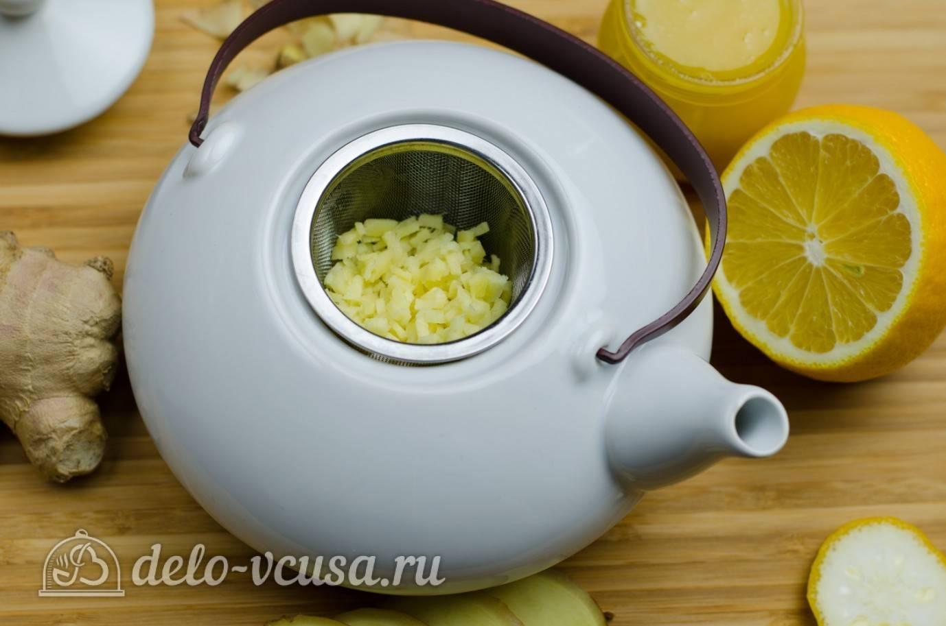 Имбирный чай: как заваривать с лимоном и медом, травами, фруктами
