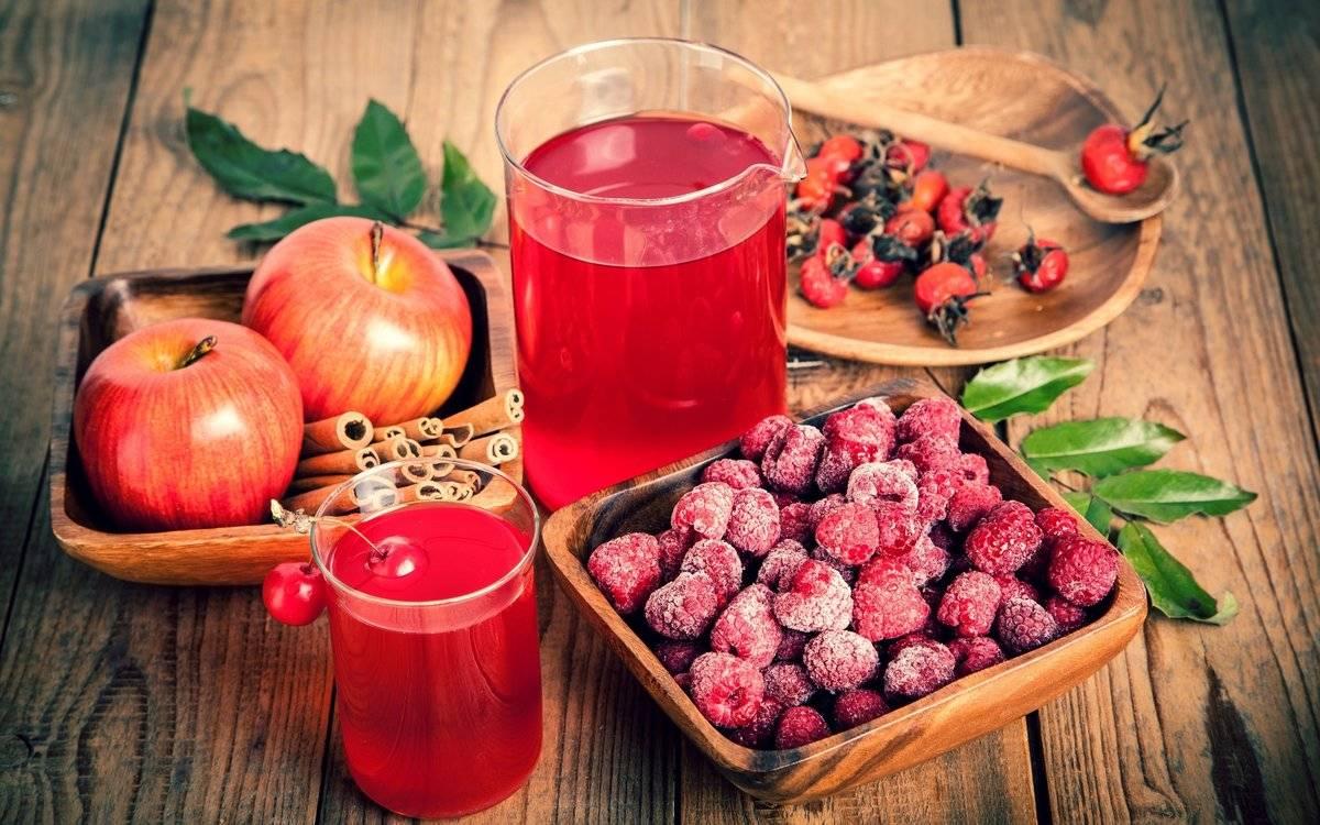 Как приготовить морс из брусники - рецепты, польза ягод