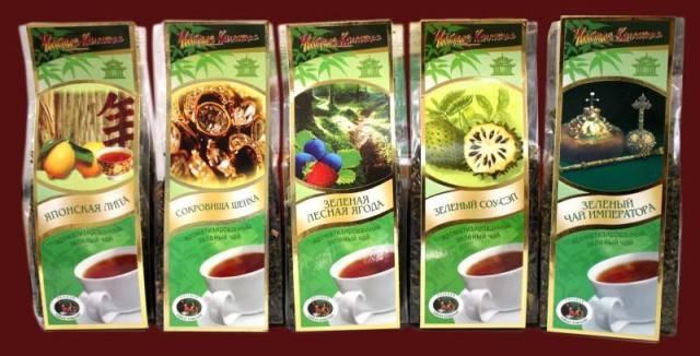 Чай от «Русской чайной компании»