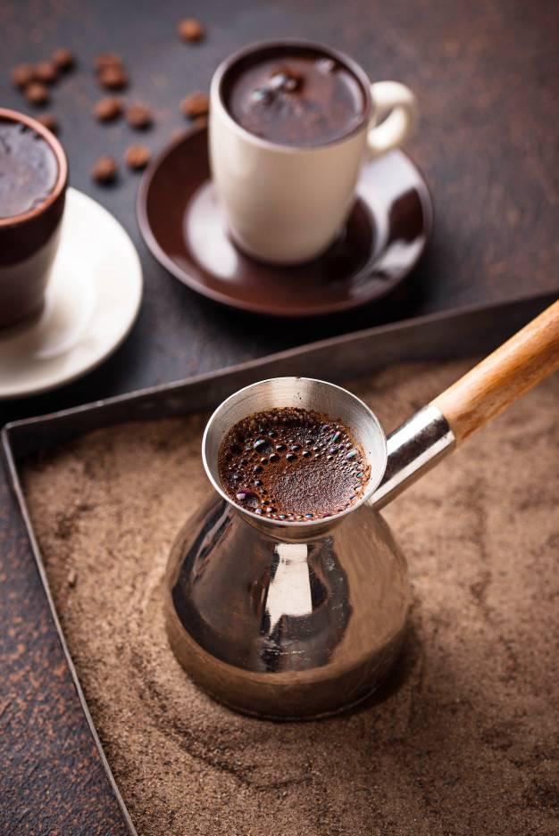 Набор для приготовления кофе на песке - виды, кофеварки, наборы, где купить