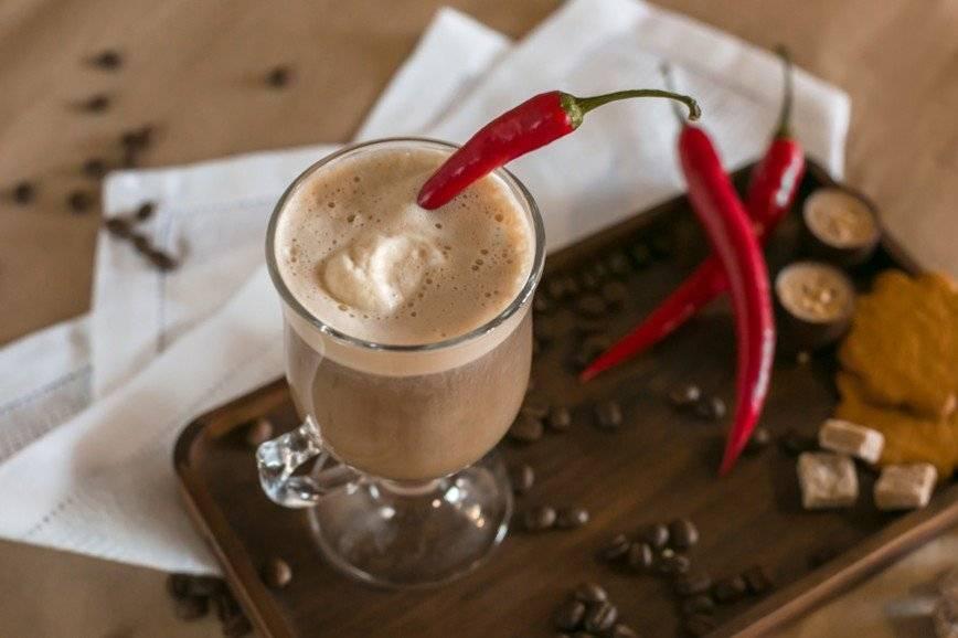 5 жгучих рецептов приготовления кофе с перцем