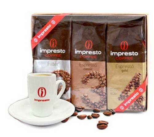 Молотый кофе impresto bossanova 250 гр